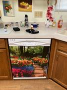 Best Appliance Skins Flower Path<br/>Dishwasher Magnet Skin Review