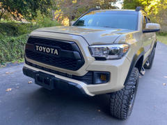 Tacoma Lifestyle Tacoma TRD Pro Grille Lettering Review