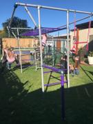FUNKY MONKEY BARS AUSTRALIA Large Nest Swing Package Review