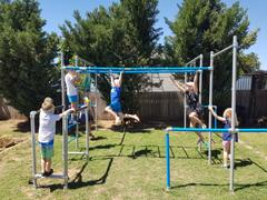 FUNKY MONKEY BARS AUSTRALIA Single swing frame Review