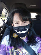 Yarn Moustache Adults Adjustable 3 layer Face Mask (including 2 Filters) Review