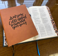Bibles and Coffee Drink Coffee - Lined Journal Review