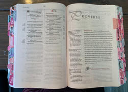 Bibles and Coffee Floral Bible Tabs Review