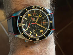 Spinnaker Watches Trackside Black Review