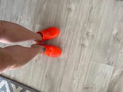 Kit de sangles de talon Calzuro Canada - Orange FLUO Review