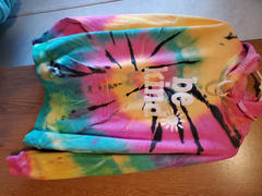 sunshinesisters Be Kind Tie Dye Hoodie - Rainbow Mint Black Review