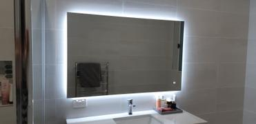 Luxe Mirrors Luxe Rectangle Backlit LED Mirror with Demister 900mm or 1200mm Review