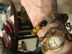 Lily Rose Jewelry Co 10mm Elizabeth April Channeled Anunnaki Sacred Geometry Limited Edition Cosmic Species Stretch Bracelet Review