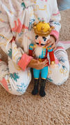 Nutcracker Ballet Gifts King Plush Nutcracker with Gold and Yellow Crown 14 inch Review