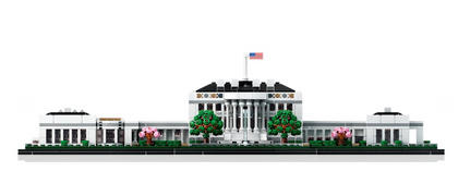 Myhobbies LEGO® 21054 Archiecture The White House Review