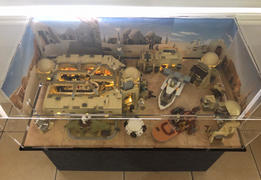 Myhobbies LEGO® 75290 Star Wars™ Mos Eisley Cantina™  Display Case Review