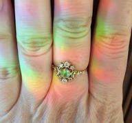 local eclectic Moonstone Wandering Cosmos Ring Review