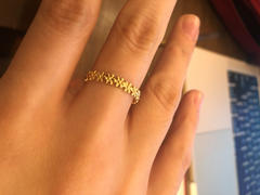 local eclectic Solid Gold Flower Child Ring Review