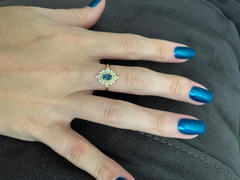 local eclectic London Blue Topaz and Diamond Dynasty Ring Review