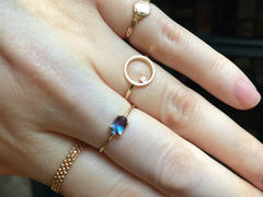 local eclectic 14K Gold Sweetest Birthstone Ring Review