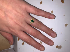 local eclectic Green Onyx Grecian Ring Review