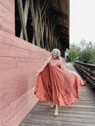 Silk & Salt Go With the Flow Oversized maxi dress - Rusted Orange Review