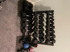 FitGrit.ca 5-50 LBS Premium Rubber Hex Dumbbell Set Review