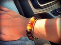 Dharma Shop Bodhi Seed and Amber Wrist Mala Review