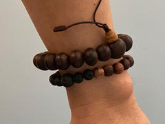 Dharma Shop Thai Rosewood and Lava Rock Bracelet Review