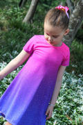 BOO! Designs Spandex Glitter Ombre Pink Purple Review