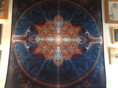 Pumayana Sacred Geometry Tapestry | Flower of Life Wall Art | Equilibrium Review