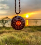 Pumayana Orgone Pendant | Orgonite Necklace | EMF Protection | Sun Seed Review