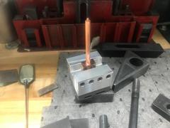 Maxx Tooling Revisión del portaelectrodos ranurado U54 de aluminio MaxxMacro 15