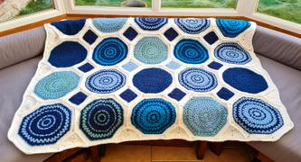 Deramores Lisbon Tiles Blanket Crochet Kit and Pattern Review
