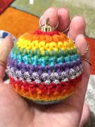 Deramores Christmas Baubles Crochet Kit and Pattern in Deramores Yarn Review