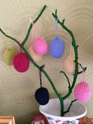 Deramores Hanging Easter Eggs Knitting Kit and Pattern in Deramores Yarn Review