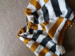 Deramores Striped Afghan Kit in Deramores Studio Chunky Review