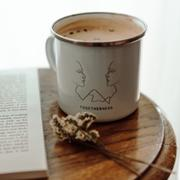 The Feminist Shop Feminist Enamel Mug - F by Carola Marin Review