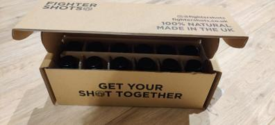 fightershots Ginger -  27g organic cold pressed ginger in each bottle, 6 or 12 x 60ml Review