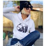 Brutus Gold Boutique Fifty Four - Organic - Luxury Hoodie - White - Womens Review