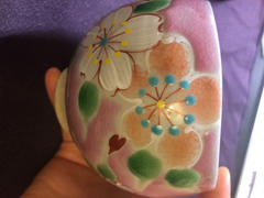 JAPAN KUTANI SHOP by Musubi Kiln Sakura Pink Kutani ware Tea Cup Review