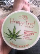Zatural Tingly Mint Therapeutic Foot Butter | Hempy Feet Review