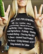Sophia Jazmine Vegan Activist t-shirt- Women's Apparel Review