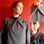 The Assembly Line Shop ELASTIC TIE SWEATER PATTERN Review