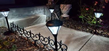Outdoor Solar Store Aluminum Solar Pathway Light - 2 Pack Review