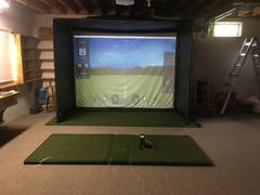 Rain or Shine Golf SkyTrak SwingBay Golf Simulator Package Review