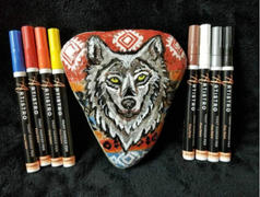 Artistro 15 Oil Based Paint Pens for Rock Painting, Ceramic, Wood, Glass, Canvas, Fabric & more Review