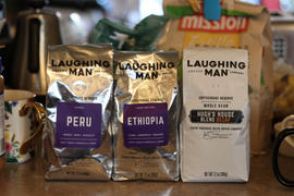 Laughing Man Cafe Hugh's House Blend Decaf Review