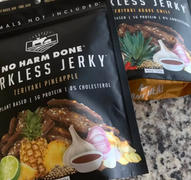 No Harm Done - Jerkless Jerky Teriyaki Pineapple Review