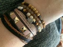 laurel denise Miles Apart But Close To The Heart - Leather Bracelet Review