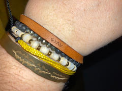 laurel denise God is Bigger Than The Highs and Lows - Leather Bracelet Review