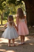 Princessly Princess Ivory Lace Blush Pink Tulle Flower Girl Dress Review