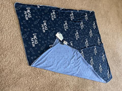 audrey-and-bear Blast Off | Swaddle Blanket Review