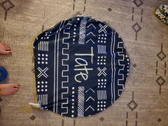 audrey-and-bear Playful Aztec | Floor Pillow Review