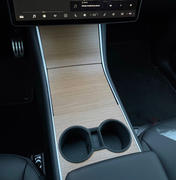 TESBROS Wood Grain Center Console Review